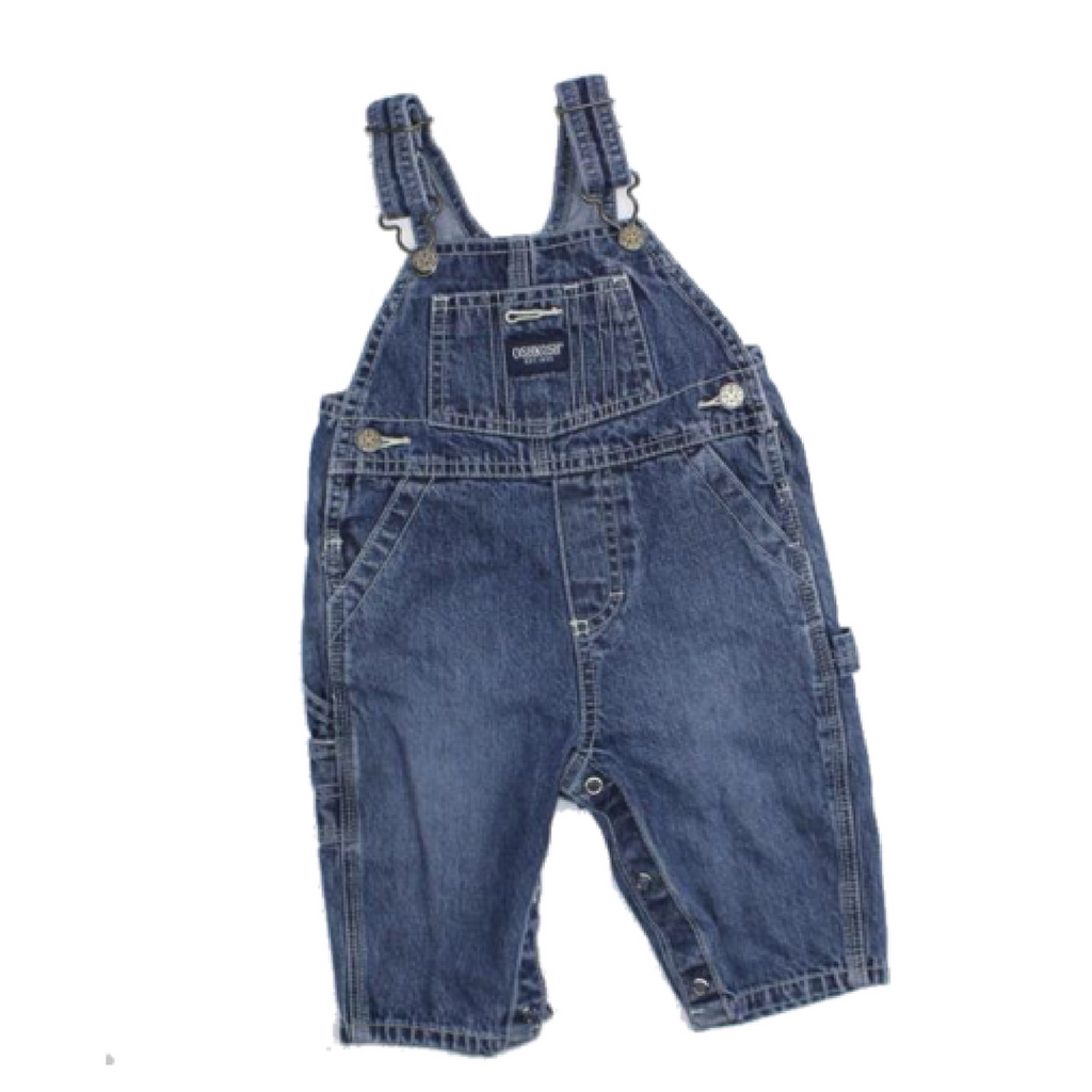 Osh Kosh Infant Denim Overalls, Size 6-9 Months - May Bug Treasures