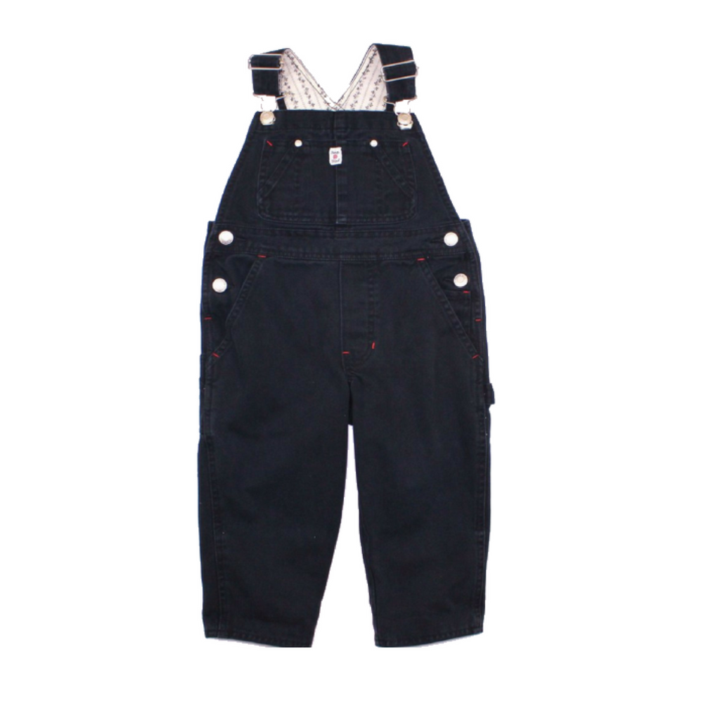 Gap Kids Girls Black Overalls, Size XXS (Size 2/3) - May Bug Treasures