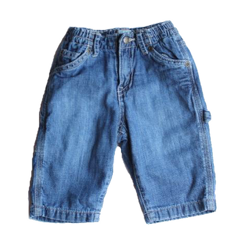 Children's Place Carpenter Jeans, Size 3-6 Months - May Bug Treasures