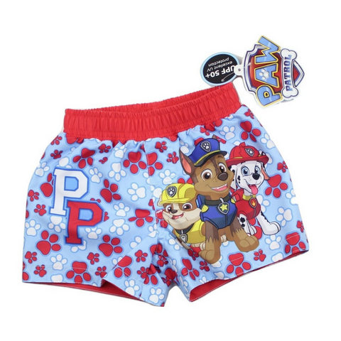 Brand New (NWT) Nickelodeon Paw Patrol Infant Swim Shorts in Size 6-9 Months Available Online at Gently Used Kids Clothes Resale May Bug Treasures