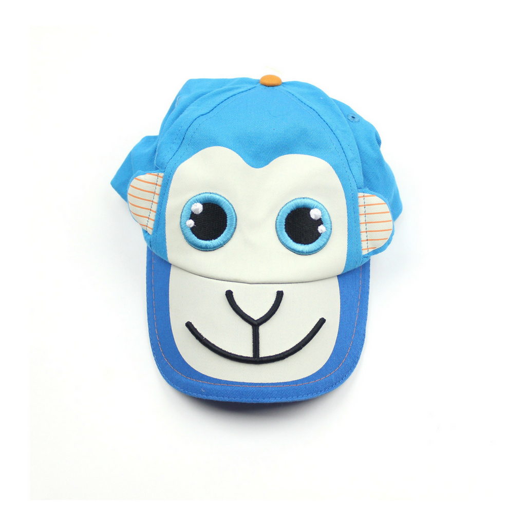 Kids Kyber Outerwear Blue Monkey Hat - May Bug Treasures