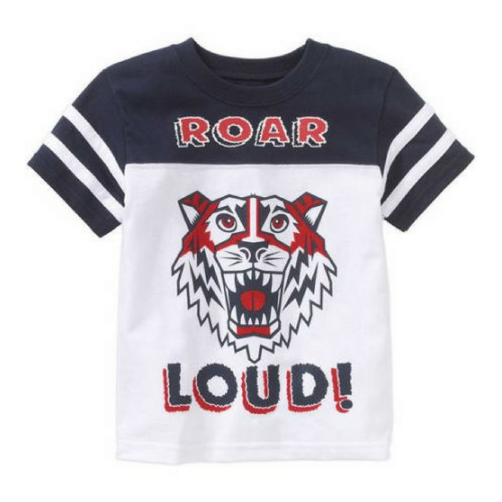 Brand New Garanimals Boys Roar Loud T-Shirt, Size 2T - May Bug Treasures