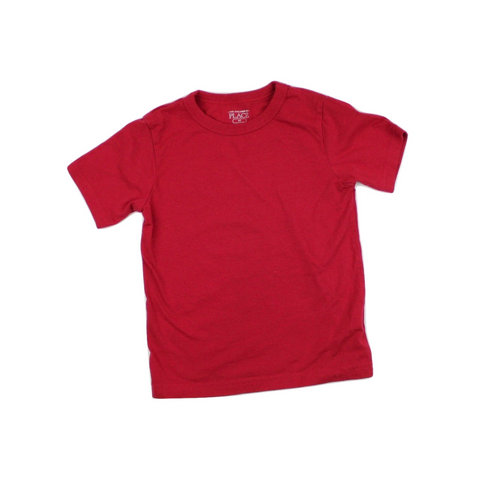 Children's Place Red T-Shirt, Size 4T - May Bug Treasures