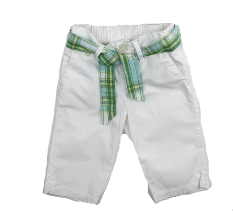 Baby Gap Girls White Capri Pants, Size 2 - May Bug Treasures