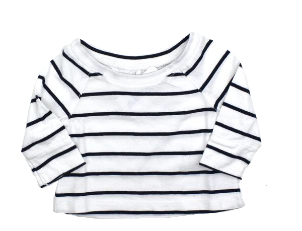 Brand New Cherokee Girls Long Sleeve Striped Shirt - May Bug Treasures