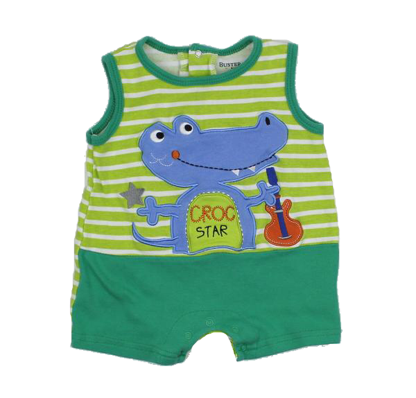 56e516ee Buster Brown Infant Boys Romper Size 12 Months