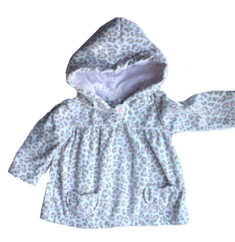 Carters Infant Girls Fleece Hoodie, Size 9 Months - May Bug Treasures