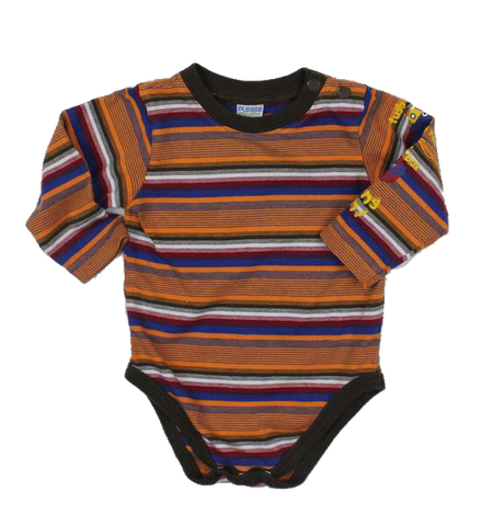 Please Mum Boys One-Piece Bodysuit, Size 6 Months - May Bug Treasures