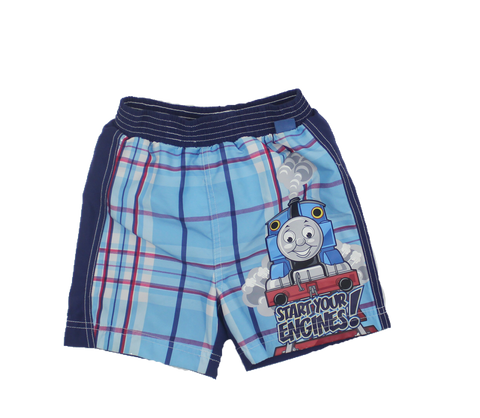 Thomas Tank Engine Toddler Swim Trunks, Size 18 Months - May Bug Treasures