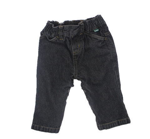 Roots Infant Black Jeans in Size 6-12 Months Available Online at Gently Used Baby Clothes Resale May Bug Treasures