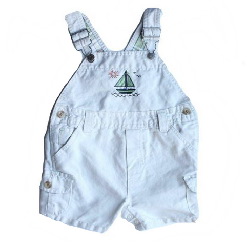 Children's Place Infant Overalls (Shortalls), Size 6-9 Months - May Bug Treasures