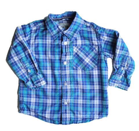 Children's Place Button Down Shirt, Size 18-24 Months - May Bug Treasures