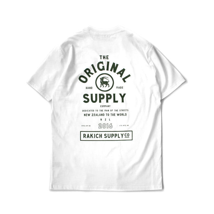 OG Supply Tee- White
