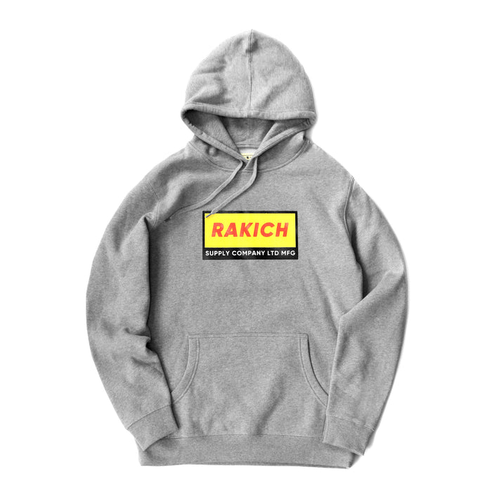 Box Logo Hood- Grey