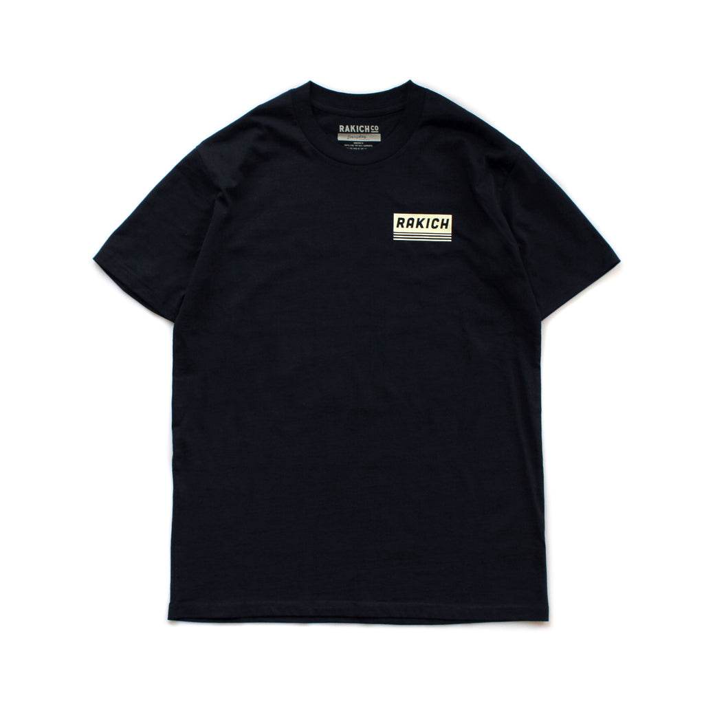Sail City Tee- Navy
