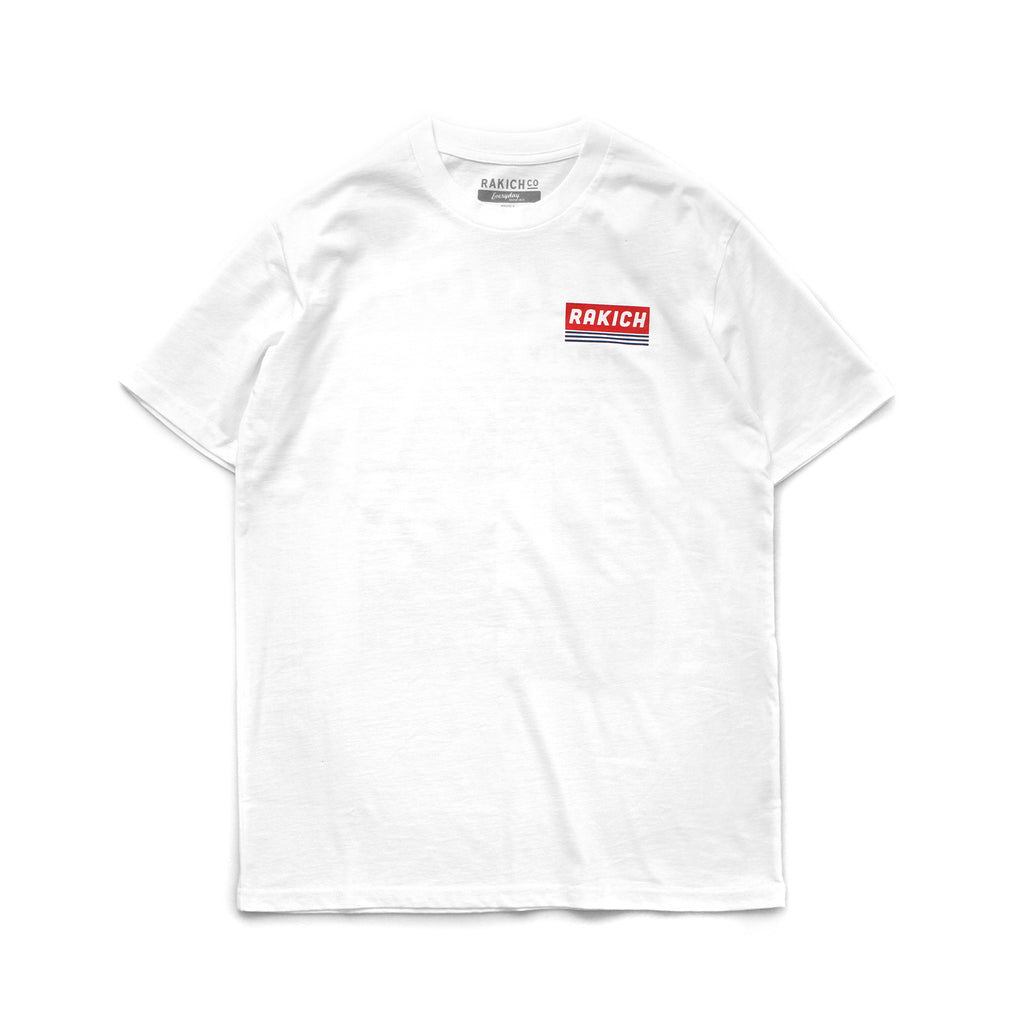 Sail City Tee- White