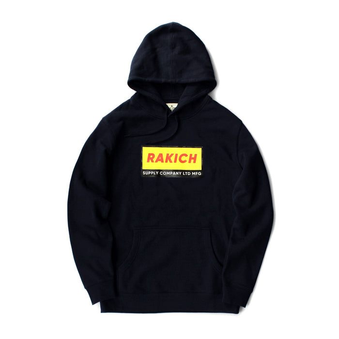 Box Logo Hood- Navy