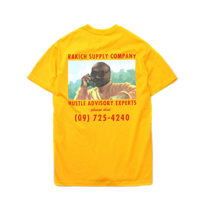 Hustle Gang Tee- Yellow