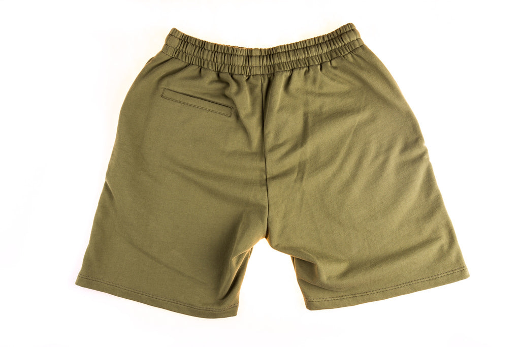 Rakich Sweat Short- Olive Green
