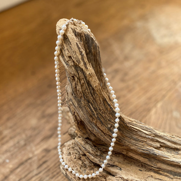 Classic Pearl Necklace - Love Beach Beads