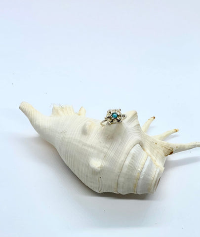 Turtle Silver Ring - Love Beach Beads
