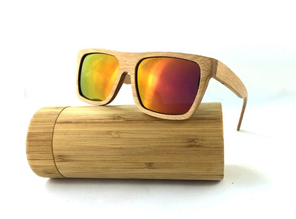 Bamboo Polarized Sunglasses