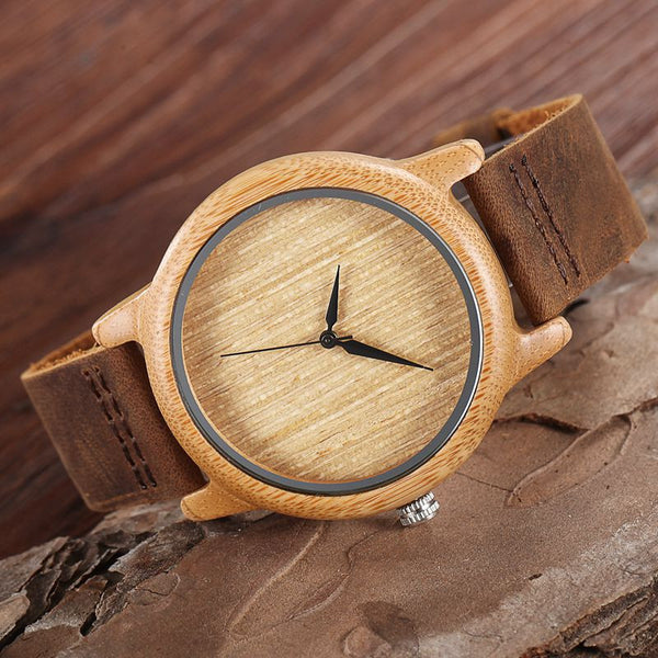 The Elite Bamboo Watch