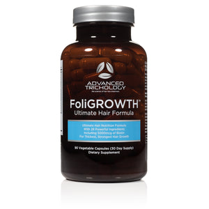 FoliGROWTH Ultimate Hair Growth Vitamin - high potency Biotin, Folic Acid, 28 herbs & vitamins - product