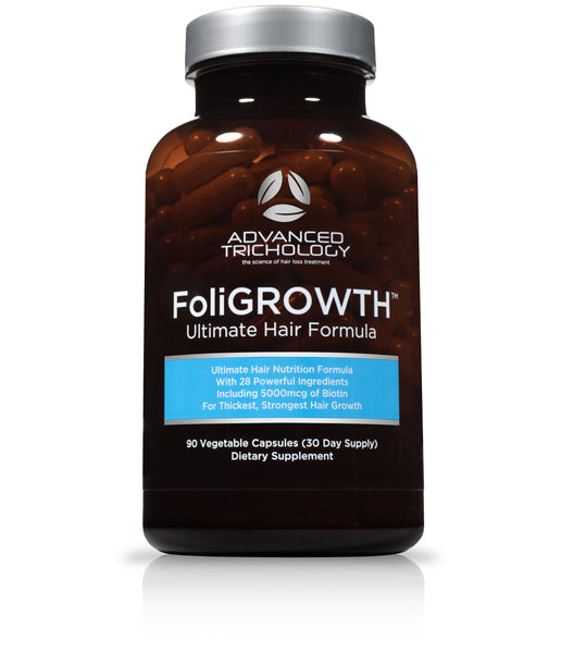THANK YOU - FoliGROWTH Ultra Hair Growth Vitamin with high potency Biotin, Folic Acid, and 26 herbs and vitamins