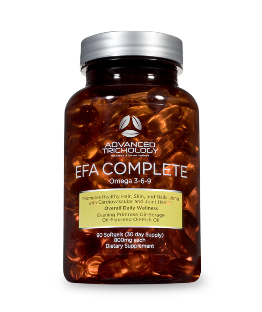 Efa Complete Nutraceutical Omega 3 6 9 For Optimal Hair Growth