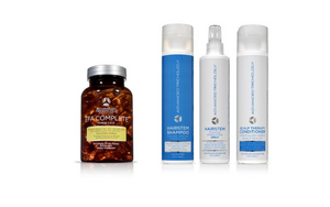 Inflammatory Hair Loss Bundle – EFA Complete & HairStem™ Shampoo and Conditioner