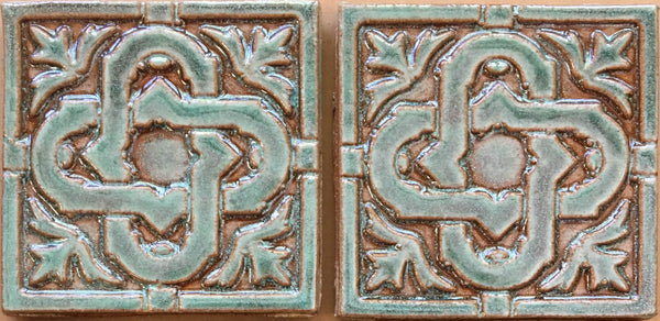 "Celtic Knot<br/>Art Tile<br/>4"" x 4"" (6 tiles in set -- next photo shows all)"