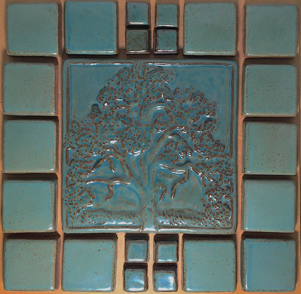 "Mother Oak<br/>Vignette<br/>12.75"" x 12.75"""