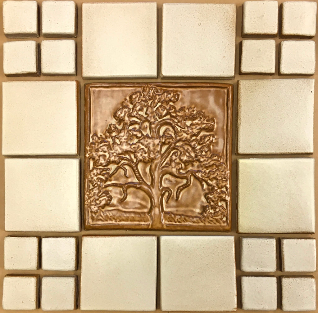 "Mother Oak<br/>Vignette<br/>16.5"" x 16.5"""