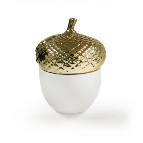 Gilded acorn candle - LIMITED EDITION