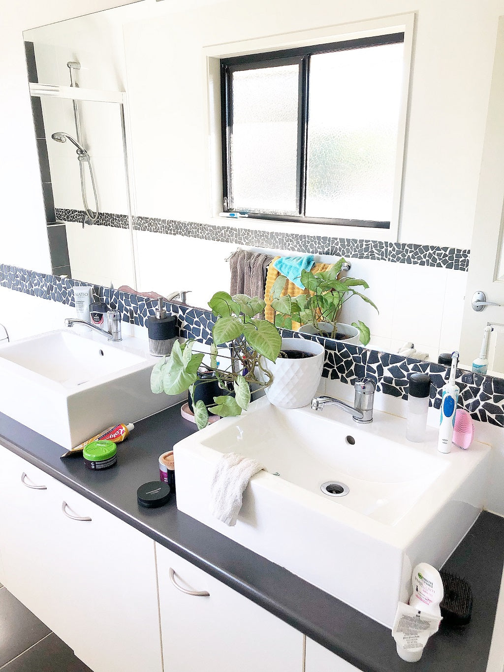 5 steps to an almost-always-clean-looking bathroom!