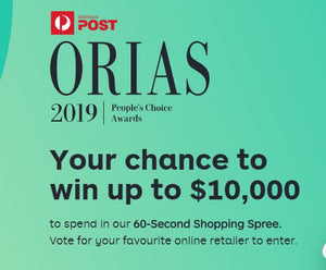 I'd LOVE your vote for the ORIAS People's Choice award!