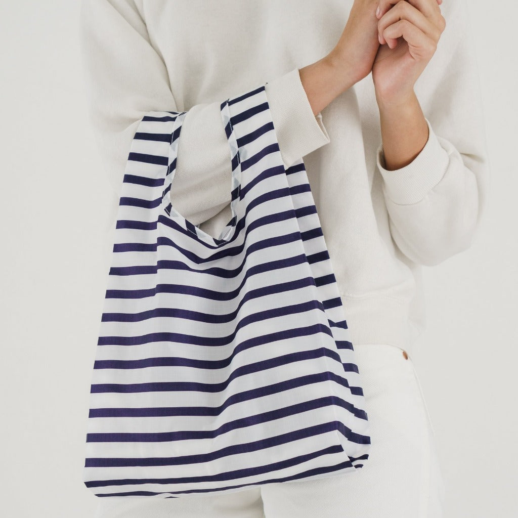 Baggu Reusable Shopping Bag - Sailor Stripe (2 sizes)