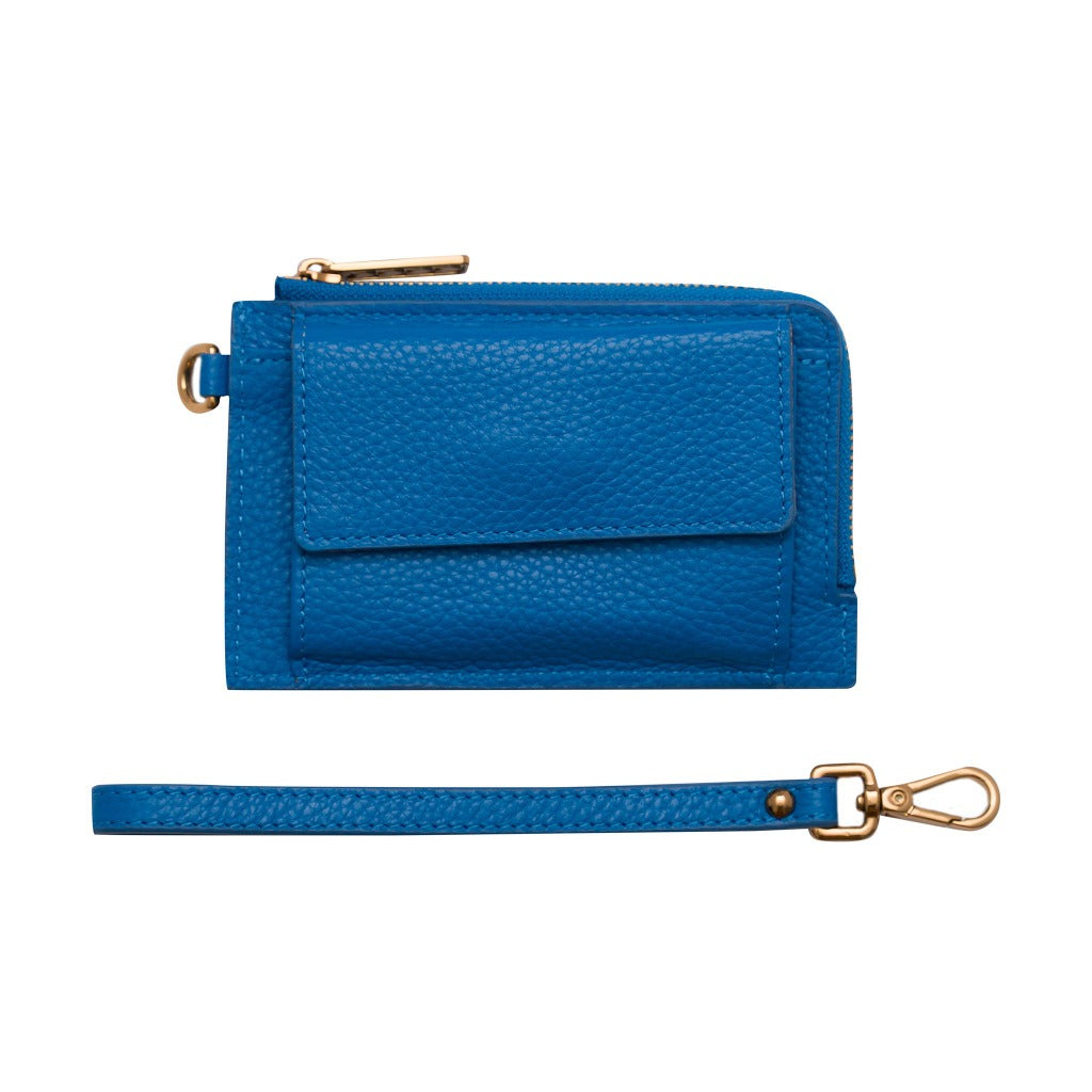 Mighty Mini Wallet 2.0 - Cobalt/Antique Gold