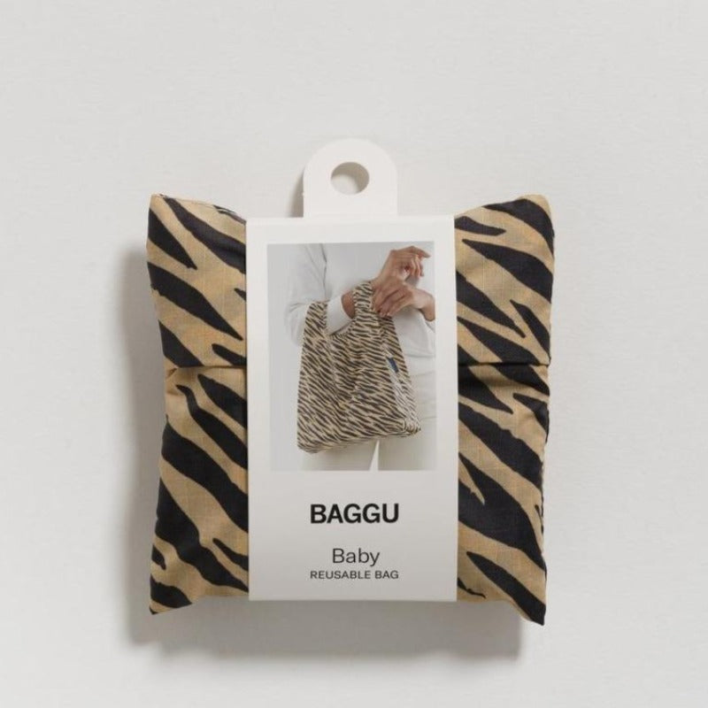 Baggu Reusable Shopping Bag - Tiger Stripe (2 sizes)