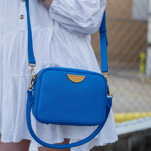 BACK IN OCT! COBALT SIDEKICK™ CROSSBODY BAG (ANTIQUE GOLD)