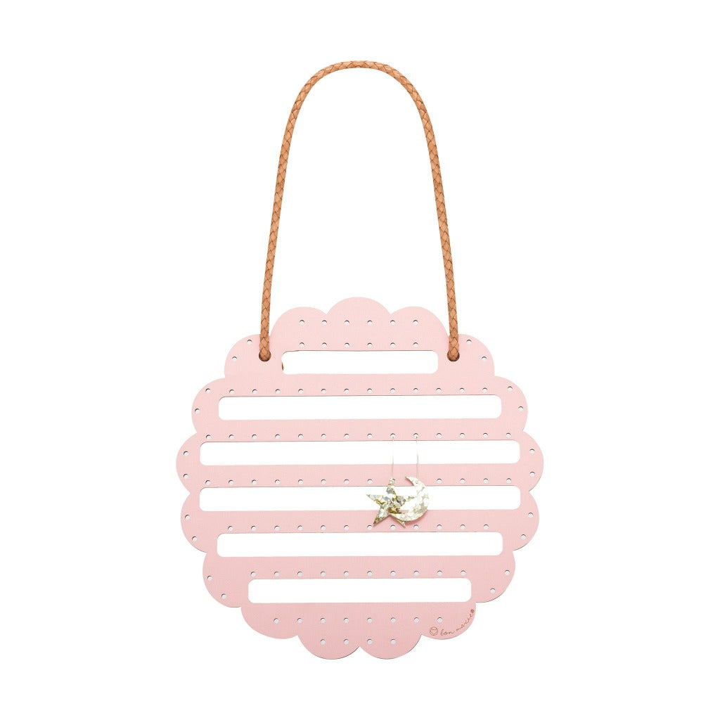 Flower Earring Holder - Blush