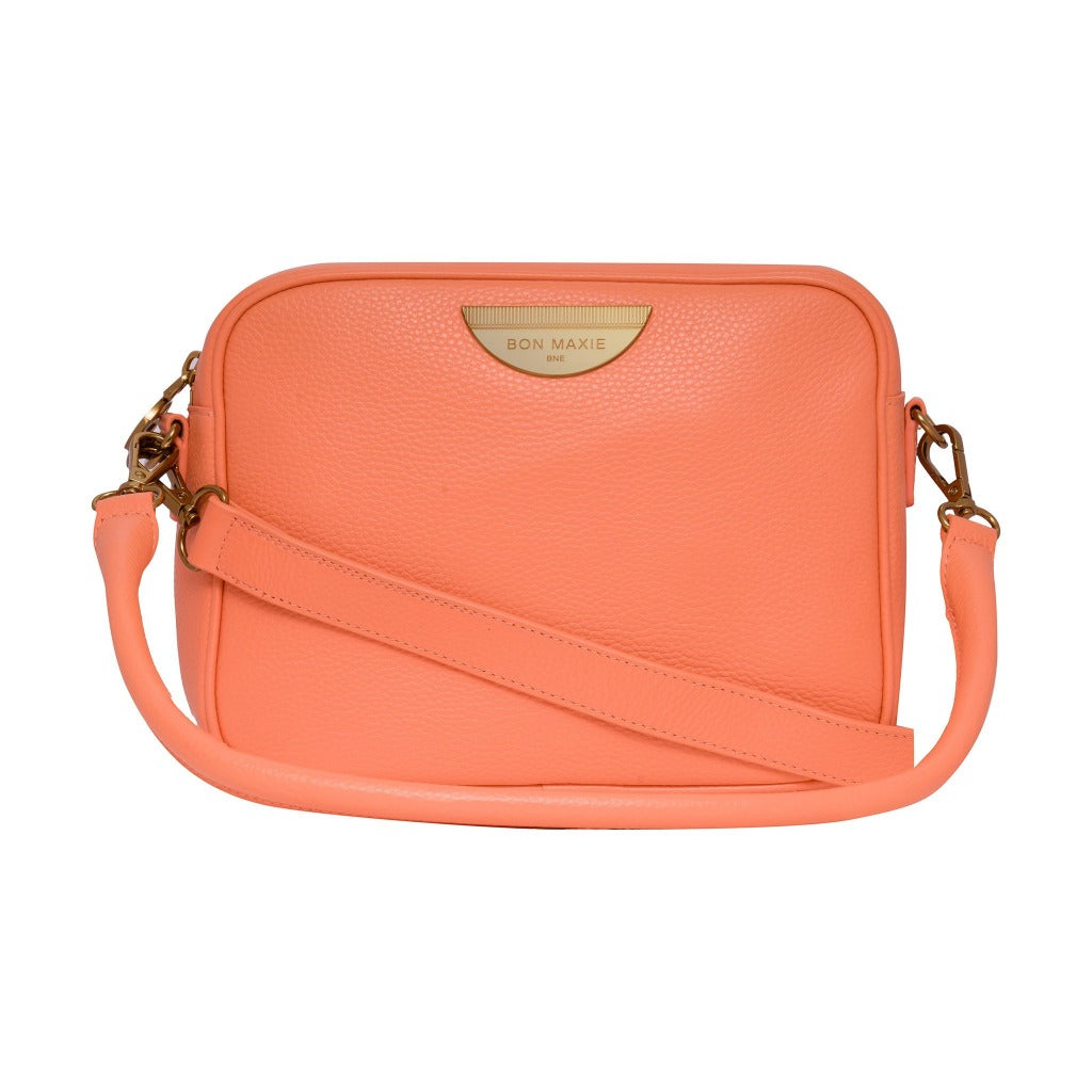 Sidekick Crossbody Bag - Peach/Antique Gold LIMITED EDITION
