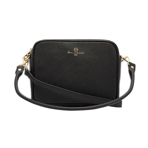 BLACK SAFFIANO SIDEKICK™ CROSSBODY BAG
