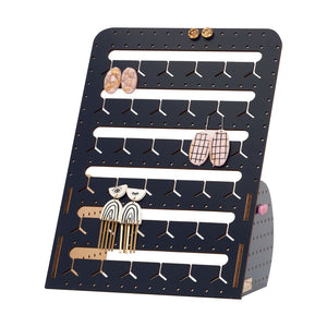 NAVY STANDING BUNNY-NOSE™ EARRING HOLDER - 2 SIZES