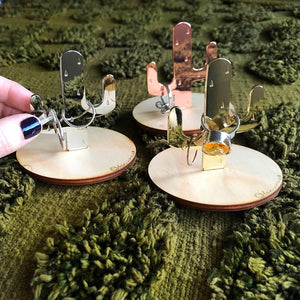 CACTUS RING HOLDERS