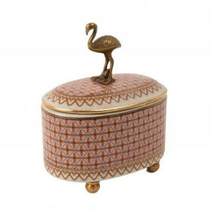 FLAMINGO TRINKET BOX - CREATIVELY ACTIVE MINDS - FREE SHIPPING IN OZ