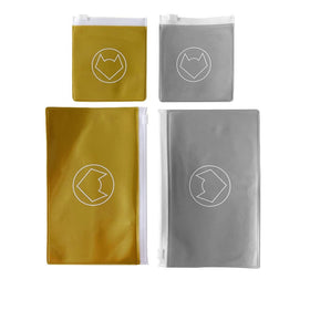 GOLD + SILVER OPAQUE - HANDY POUCH VALUE PACK