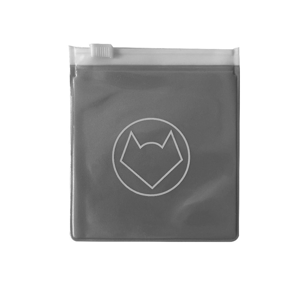 HANDY POUCHES - SILVER OPAQUE (2 SIZES)