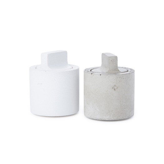 Salt & Pepper Concrete Shaker Set - Slab Homewares